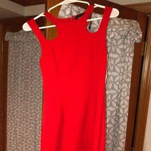 Red minkpink dress
